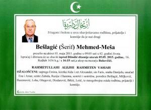 Bešlagić (Šefik) Mehmed-Meša
